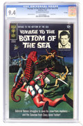 Silver Age (1956-1969):Adventure, Voyage to the Bottom of the Sea #10 File Copy (Gold Key, 1967) CGC NM 9.4 Off-white to white pages. Painted cover. Alberto G...