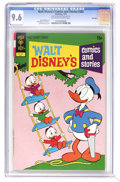 Bronze Age (1970-1979):Cartoon Character, Walt Disney's Comics and Stories #382 File Copy (Gold Key, 1972) CGC NM+ 9.6 Off-white to white pages. Tony Strobl cover. Pa...