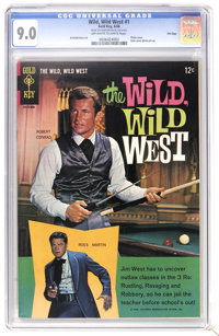 Wild, Wild West #1 File Copy (Gold Key, 1966) CGC VF/NM 9.0 Off-white to white pages. Robert Conrad and Ross Martin Phot...