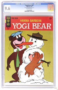 Yogi Bear #28 File Copy (Gold Key, 1967) CGC NM+ 9.6 Off-white pages. Overstreet 2006 NM- 9.2 value = $40. CGC census 7/...