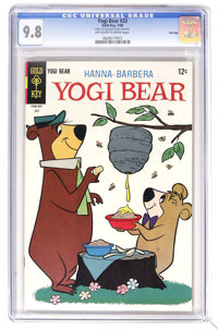 Yogi Bear #33 File Copy (Gold Key, 1968) CGC NM/MT 9.8 Off-white to white pages. Overstreet 2006 NM- 9.2 value = $32. CG...