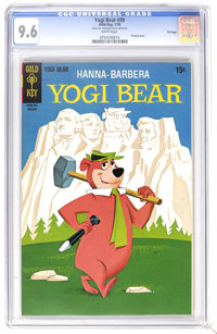 Yogi Bear #39 File Copy (Gold Key, 1970) CGC NM+ 9.6 White pages. Painted cover. Currently, this is the only CGC graded...