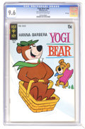 Bronze Age (1970-1979):Cartoon Character, Yogi Bear #40 File Copy (Gold Key, 1970) CGC NM+ 9.6 Off-white towhite pages. Overstreet 2006 NM- 9.2 value = $32. CGC cens...