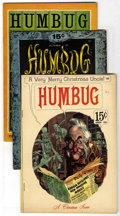 Silver Age (1956-1969):Alternative/Underground, Humbug #5 and 6 Group (Humbug, 1957-58) Condition: Average VG/FN.Includes issues #5 and 6 of Harvey Kurtzman's short-lived ...(Total: 3 Comic Books)
