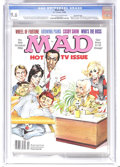 Magazines:Mad, Mad #266 Gaines File pedigree (EC, 1986) CGC NM+ 9.6 Off-white towhite pages. Mort Drucker wraparound cover featuring Johnn...