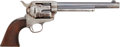 Military & Patriotic:Indian Wars, Fine U.S. Colt .45 Caliber Single Action Army Revolver #140275, Manufactured 1891....