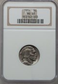 Buffalo Nickels: , 1914 5C MS65 NGC. NGC Census: (191/63). PCGS Population (311/162).Mintage: 20,665,738. Numismedia Wsl. Price for problem f...