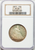 Proof Seated Half Dollars, 1877 50C PR63 NGC....