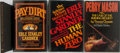 Books:Mystery & Detective Fiction, Erle Stanley Gardner. Group of Four First Edition, First PrintingBooks. Various publishers, 1968-1990. Pay Dirt a... (Total:4 Items)
