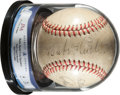 Autographs:Baseballs, 1946-48 Babe Ruth, Tris Speaker & More Signed Baseball....