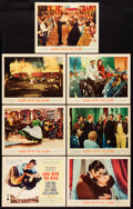 "Movie Posters:Academy Award Winners, Gone with the Wind (MGM, R-1961). Title Lobby Card & Lobby Cards (6) (11"" X 14""). Academy Award Winners.. ... (Total: 7 Items)"