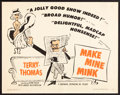 """Movie Posters:Comedy, Make Mine Mink & Other Lot (Continental, 1960). Half Sheets (2)(22"""" X 28""""). Comedy.. ... (Total: 2 Items)"""