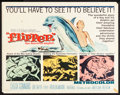 """Movie Posters:Adventure, Flipper & Others Lot (MGM, 1963). Half Sheets (3) (22"""" X 28"""").Adventure.. ... (Total: 3 Items)"""