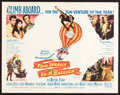 "Movie Posters:Adventure, Five Weeks in a Balloon & Other Lot (20th Century Fox, 1962).Half Sheets (8) (22"" X 28""). Adventure.. ... (Total: 8 Items)"