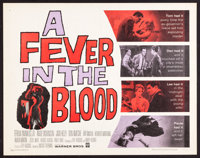 """A Fever in the Blood (Warner Brothers, 1961). Half Sheets (8) (22"""" X 28""""). Drama. ... (Total: 8 Items)"""