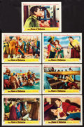 """Movie Posters:Swashbuckler, The Master of Ballantrae (Warner Brothers, 1953). Lobby Cards (7) (11"""" X 14""""). Swashbuckler.. ... (Total: 7 Items)"""
