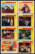 "Movie Posters:Bad Girl, Running Wild (Universal International, 1955). Lobby Card Set of 8(11"" X 14""). Bad Girl.. ... (Total: 8 Items)"