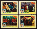 "Movie Posters:Documentary, Royal Journey (United Artists, 1952). Lobby Cards (4) (11"" X 14""). Documentary.. ... (Total: 4 Items)"