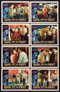 "Movie Posters:Bad Girl, The Cool and the Crazy (American International, 1958). Lobby CardSet of 8 (11"" X 14""). Bad Girl.. ... (Total: 8 Items)"