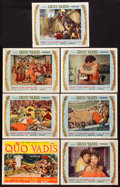 """Movie Posters:Historical Drama, Quo Vadis (MGM, 1951). Title Lobby Card & Lobby Cards (6) (11""""X 14""""). Historical Drama.. ... (Total: 7 Items)"""