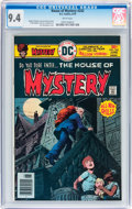 Bronze Age (1970-1979):Horror, House of Mystery #242 (DC, 1976) CGC NM 9.4 White pages....