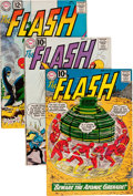 Silver Age (1956-1969):Superhero, The Flash Group (DC, 1961-70) Condition: Average VG+.... (Total: 78Comic Books)