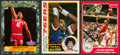 Basketball Collectibles:Others, 1970'-1980's Julius Erving Trading Cards Trio (3) - TwoAutographed! ...