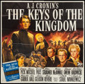 "Movie Posters:Drama, The Keys of the Kingdom (20th Century Fox, 1944). Six Sheet (81"" X81""). Drama.. ..."