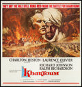 "Movie Posters:Adventure, Khartoum (United Artists, 1966). Six Sheet (79"" X 79""). Adventure.. ..."