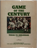 Books:Sporting Books, [Football]. J. Neal Blanton. Game of the Century. Jenkins,1970. First edition, first printing. Publisher's cloth. T...