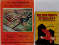 Books:Biography & Memoir, Manfred von Richthofen [The Red Baron]. Group of Two Related Books. Various editions and publishers, 1927-1964. Publisher's ... (Total: 2 Items)