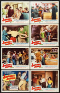 "Movie Posters:Crime, Juvenile Jungle (Republic, 1958). Lobby Card Set of 8 (11"" X 14""). Crime.. ... (Total: 8 Items)"