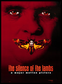 """The Silence of the Lambs (Orion, 1990). One Sheet (27"""" X 40"""") DS Advance Style C. Thriller"""