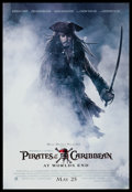"Movie Posters:Adventure, Pirates of the Caribbean: At World's End (Buena Vista, 2007) OneSheet (27"" X 40"") DS Advance. Adventure.. ..."