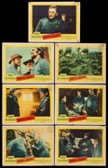 """Movie Posters:War, Paths of Glory (United Artists, 1958). Lobby Cards (7) (11"""" X 14"""").War.. ... (Total: 7 Items)"""