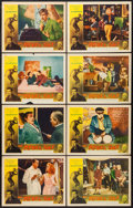 "Movie Posters:Crime, The Rebel Set (Allied Artists, 1959). Lobby Card Set of 8 (11"" X14""). Crime.. ... (Total: 8 Items)"