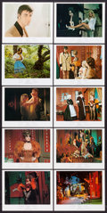 Movie Posters:Adult, The Erotic Adventures of Pinocchio & Other Lot (Lima Production, 1971). British Front of House Color Photos (10) & Photos (... (Total: 20 Items)