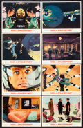 "Movie Posters:Science Fiction, 2001: A Space Odyssey (MGM, 1968). Lobby Card Set of 8 (11"" X 14"").Science Fiction.. ... (Total: 8 Items)"