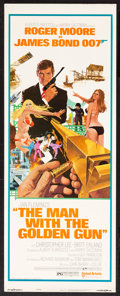 "Movie Posters:James Bond, The Man with the Golden Gun (United Artists, 1974). Insert (14"" X36""). James Bond.. ..."