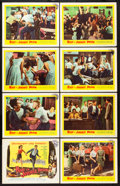 "Movie Posters:Exploitation, Riot in Juvenile Prison (United Artists, 1959). Lobby Card Set of 8 (11"" X 14""). Exploitation.. ... (Total: 8 Items)"