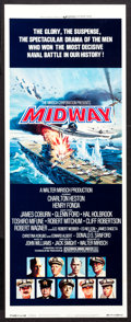 "Movie Posters:War, Midway (Universal, 1976). Insert (14"" X 36"") Style B. War.. ..."