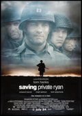 "Movie Posters:War, Saving Private Ryan (Paramount, 1998). Bus Shelter (68.5"" X 47.5"")DS Advance. War.. ..."