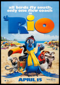 "Movie Posters:Animation, Rio (20th Century Fox, 2011). Bus Shelter (43"" X 83.5"") DS Advance. Animation.. ..."