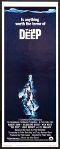 "Movie Posters:Adventure, The Deep (Columbia, 1977). Insert (14"" X 36""). Adventure.. ..."