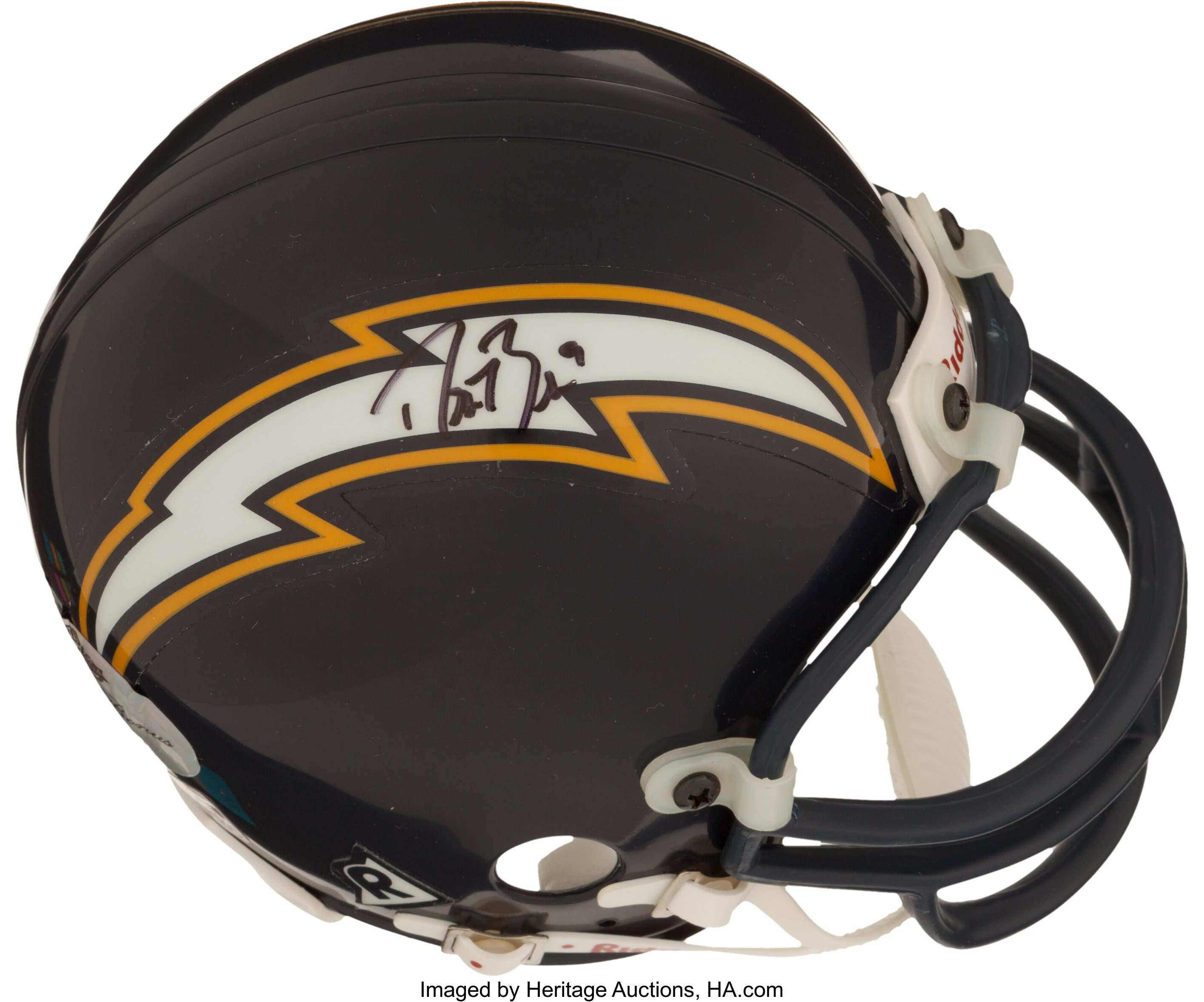 Drew Brees Signed San Diego Chargers Mini Helmet Football Lot 41148 Heritage Auctions
