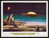 "Forbidden Planet (MGM, 1956). Lobby Card (11"" X 14""). Science Fiction"