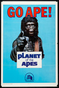 "Movie Posters:Science Fiction, Go Ape! (20th Century Fox, 1974). Television One Sheet (27"" X 41"") & Uncut Pressbook (8.5"" X 14""). Science Fiction.. ..."