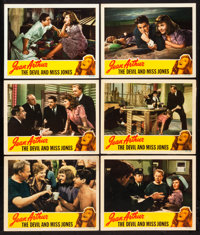 """The Devil and Miss Jones (RKO, 1941). Lobby Cards (6) (11"""" X 14""""). Comedy. ... (Total: 6 Items)"""