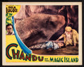 "Movie Posters:Adventure, Chandu on the Magic Island (Principal Distributing, 1935). LobbyCard (11"" X 14""). Adventure.. ..."