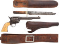 Handguns:Single Action Revolver, Colt Single Action Army, Delivered to Hibbard, Spencer, Bartlett and Co. of Chicago in 1883, Belonging to T. W. Searle. ... (Total: 5 )